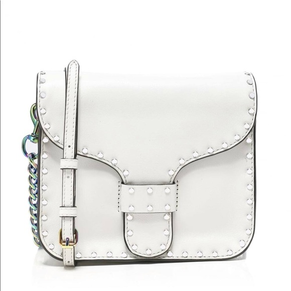 White Midnighter Mini Messenger bag Rebecca Minkoff 9f5P3Xw